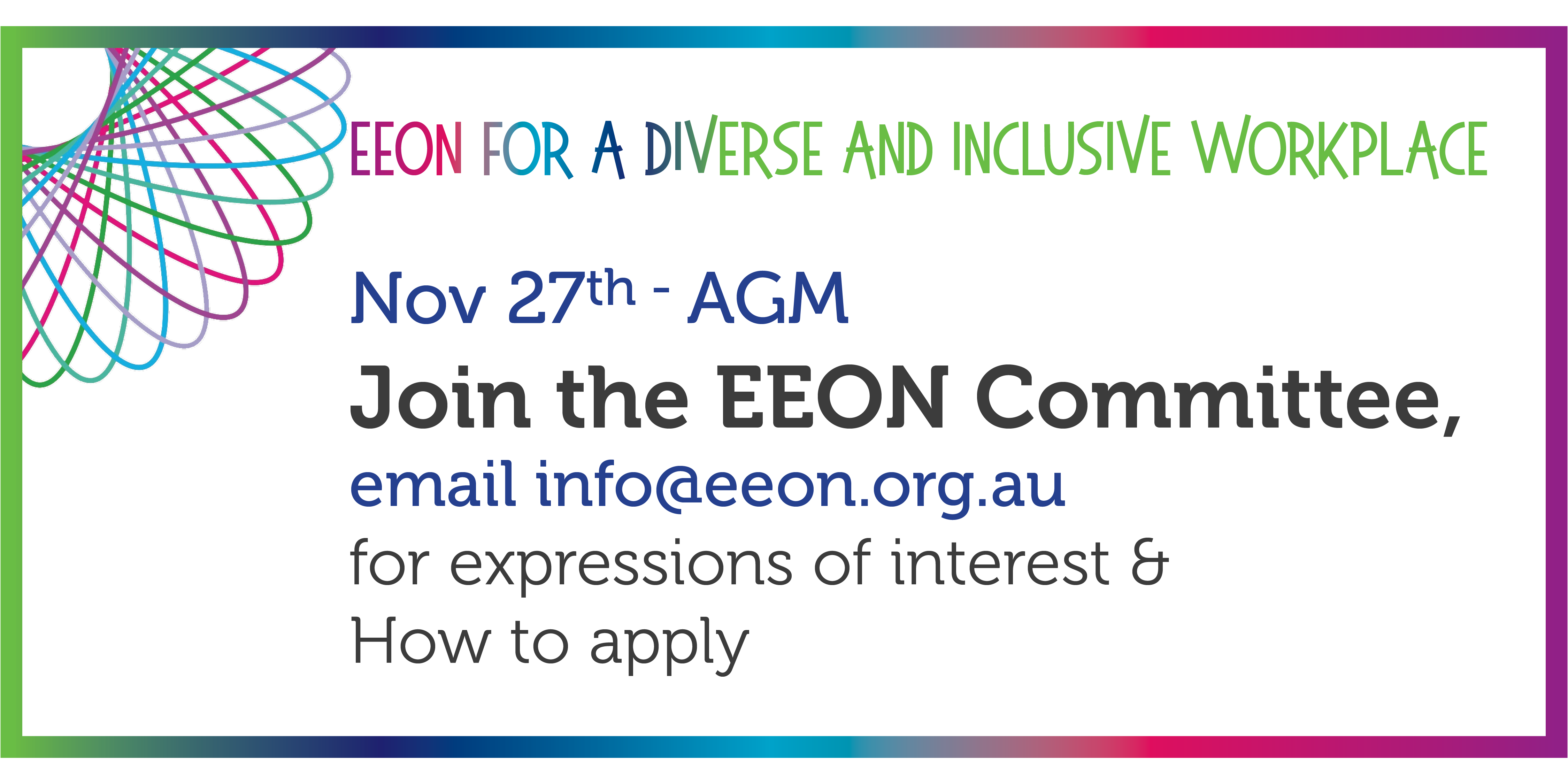 EEON committee expressions of interest fixed