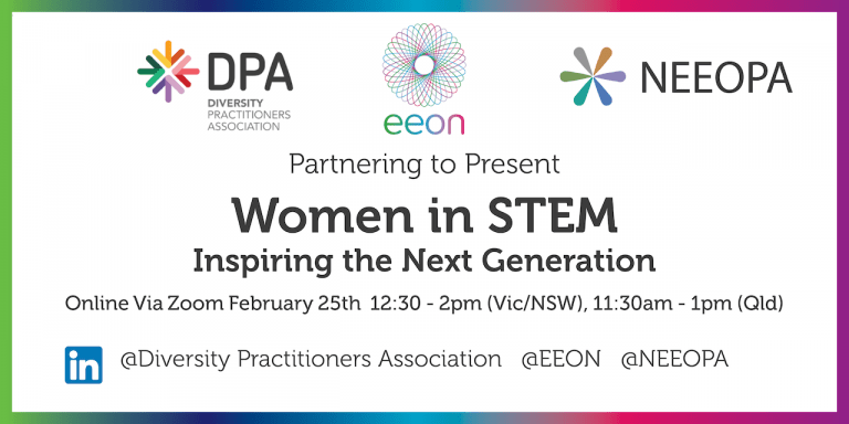 Women in STEM: Inspiring the next generation event banner